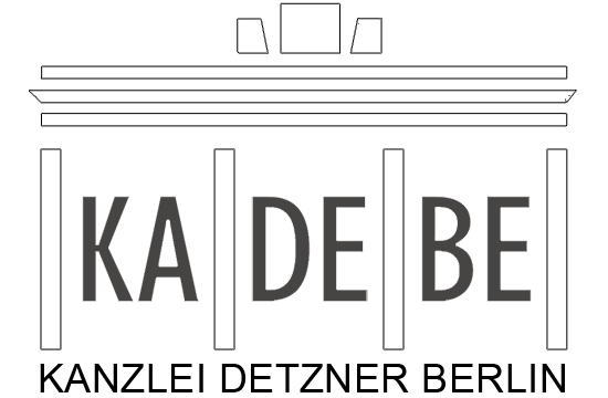 logo kanzlei detzner berlin